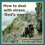 how to deal with stress God's way