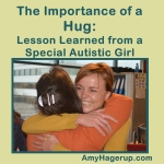 Hugging Learned from Autistic Girl