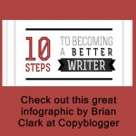 becoming a better writer in 10 steps by Brian Clark