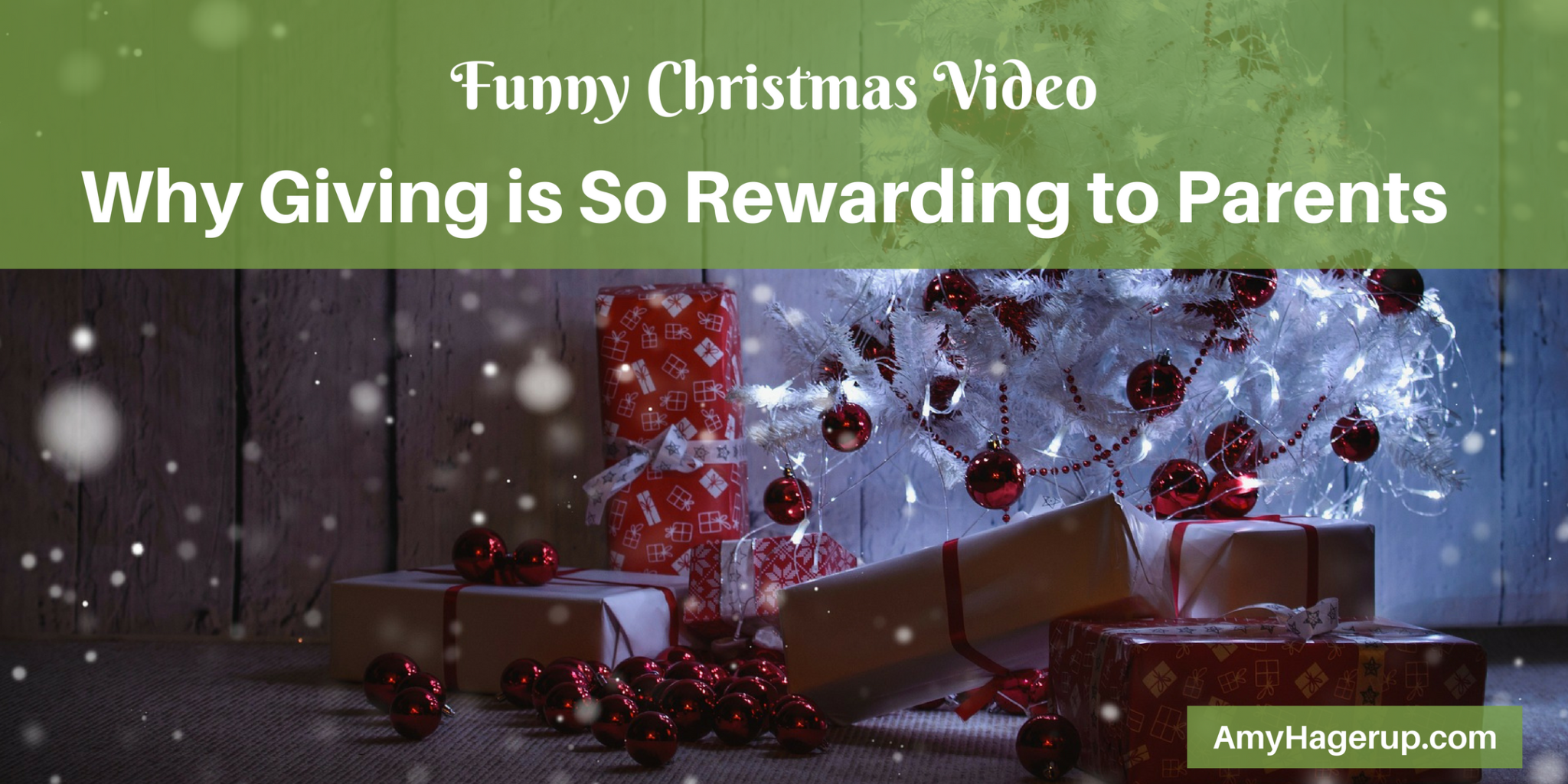 Check out this funny Christmas video and you will see why parents love to give to their children.