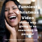Funny Christmas Video: Why Giviing is So Rewarding to Parents