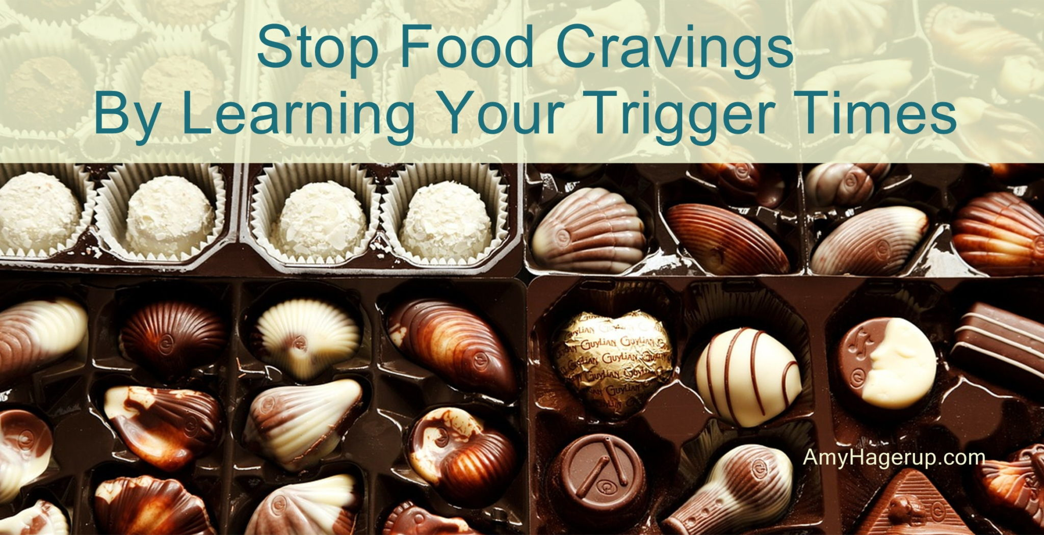 Learn how to stop your food cravings by learning your trigger times.