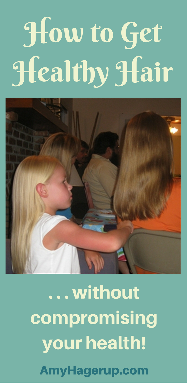 Check out how to get healthy hair without compromising your health in the process!