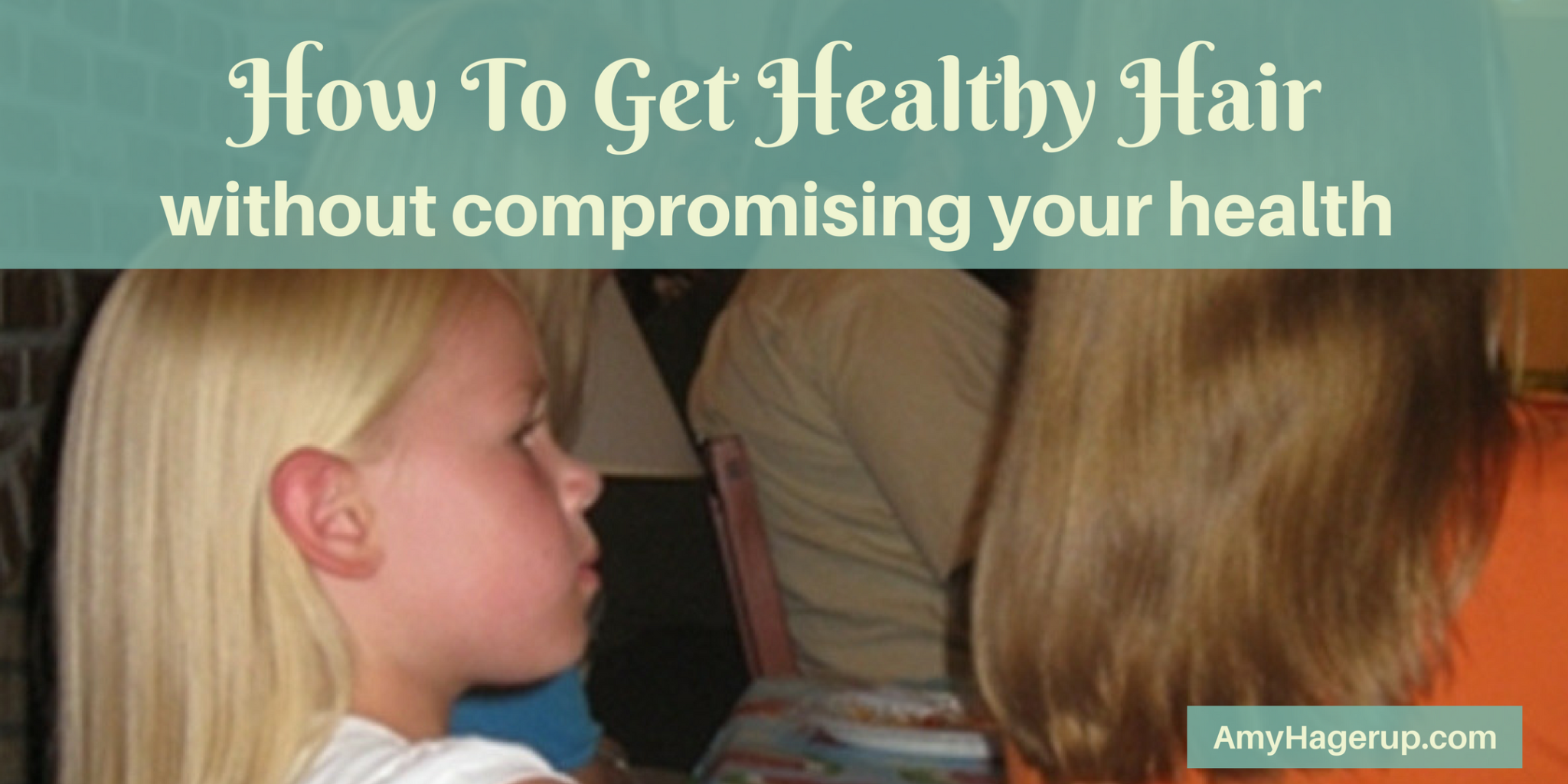 Check out how to get healthy hair without compromising your health.