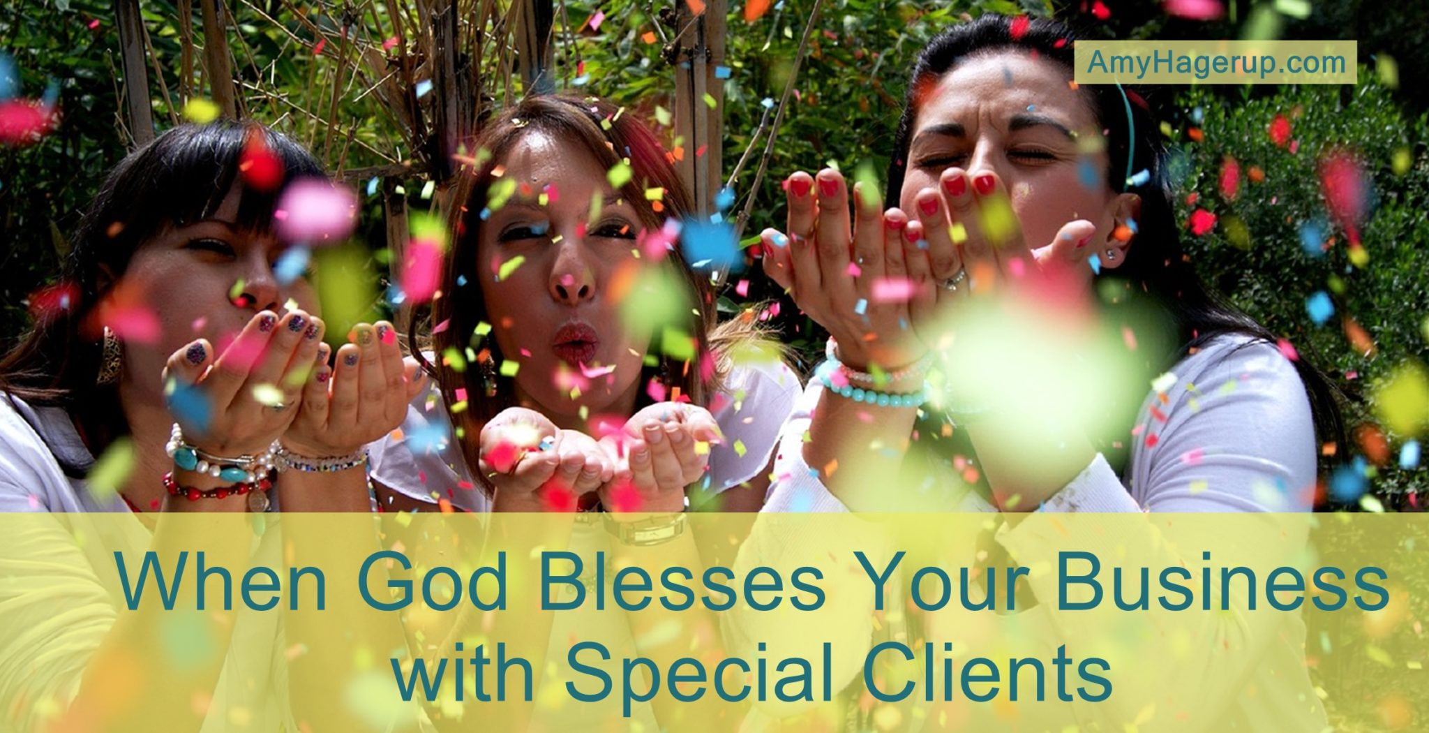 God has a way of blessing us with special clients who become lifelong friends.