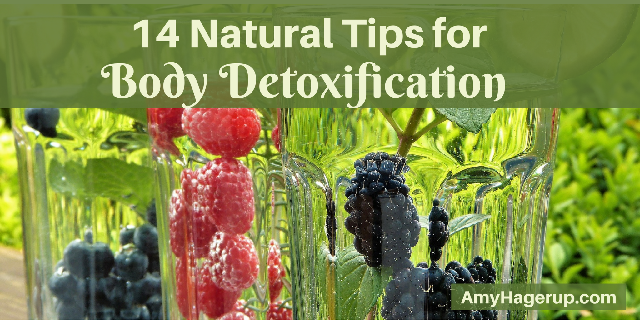 Check out 14 tips for effective body detoxification.
