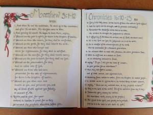 memorizing scripture for Christmas