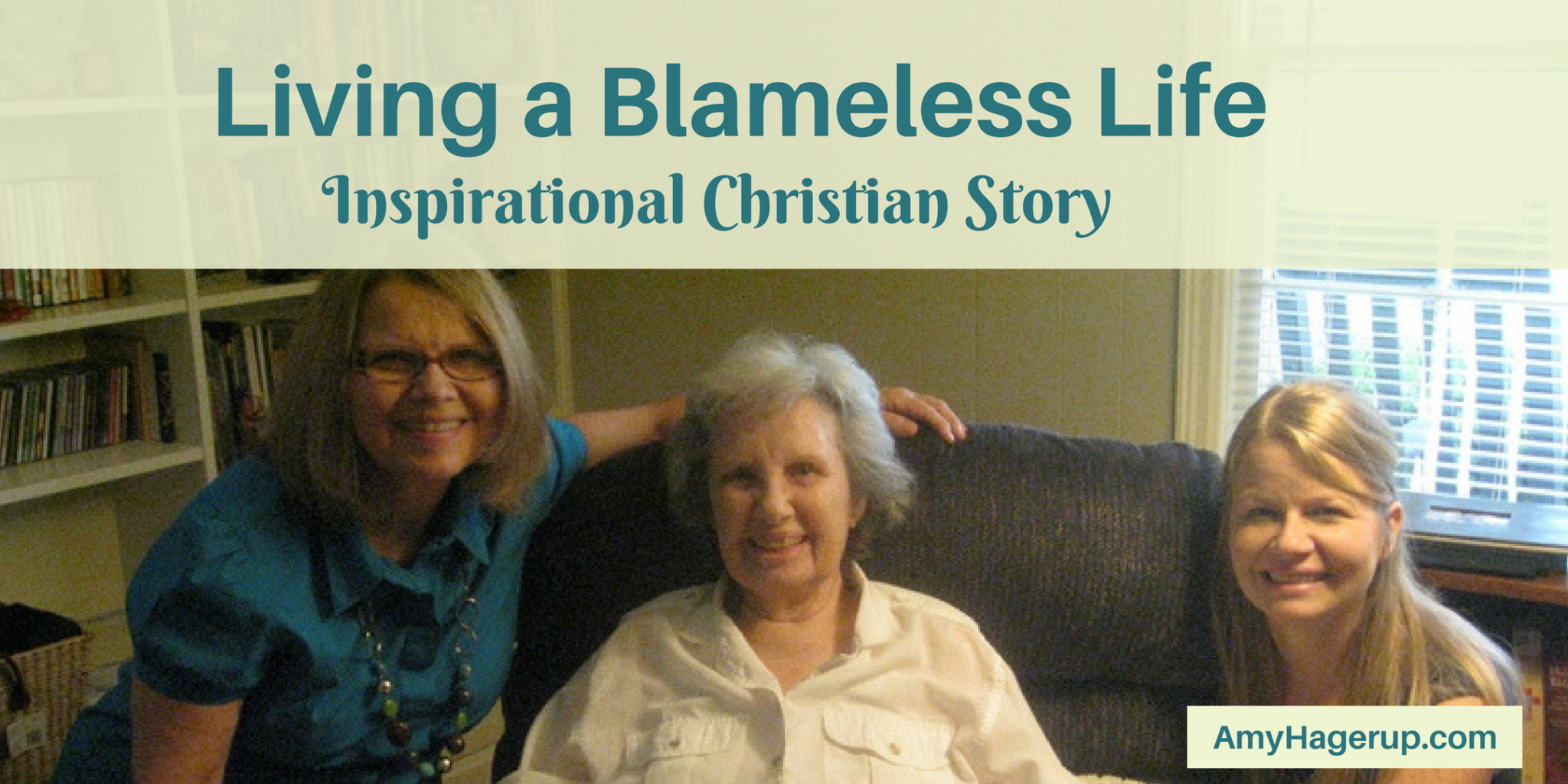Here is an inspirational Christian story about living a blameless life.