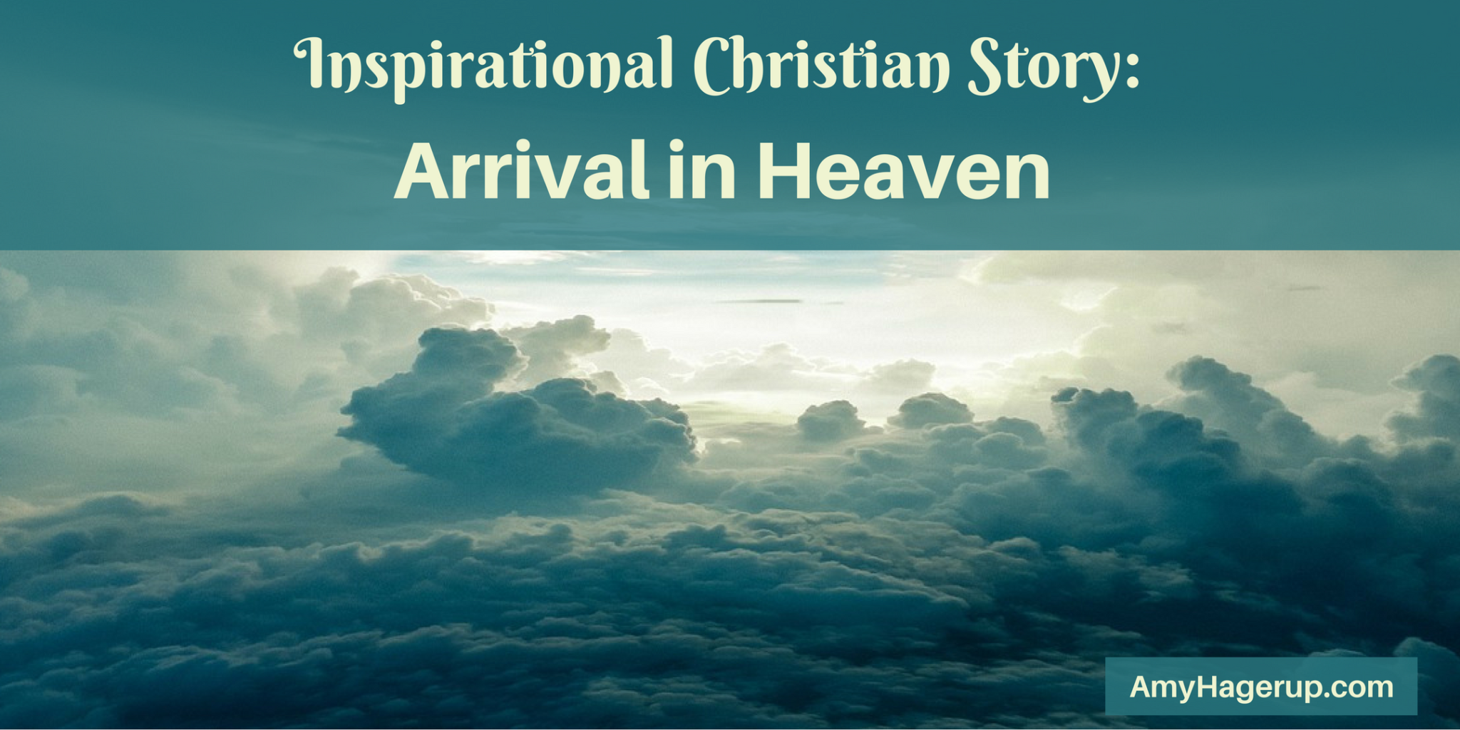 What an inspiring Christian story of how my mom envisioned arriving in heaven.
