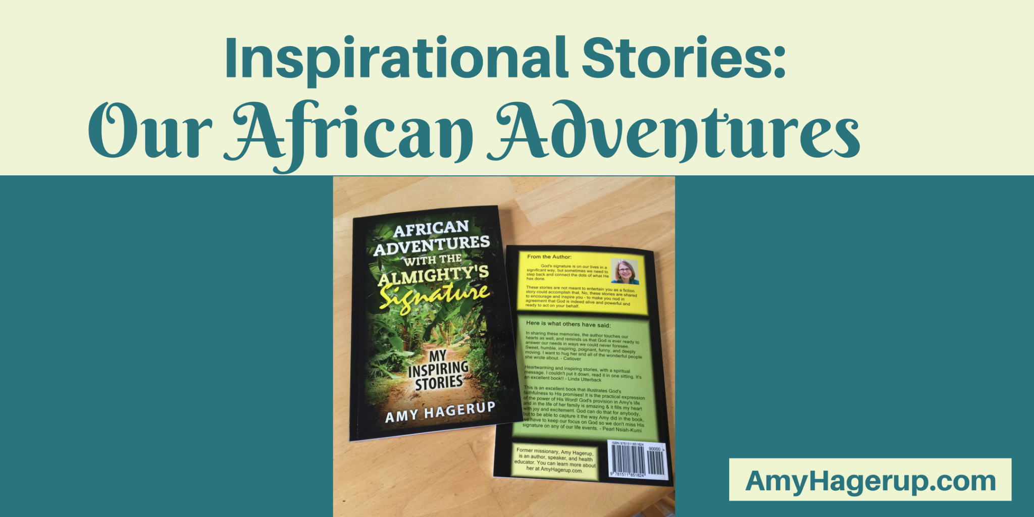 Check out these amazing stories from our missionary days in Africa.