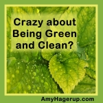Crazy about Being Green and Clean