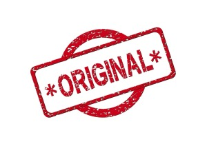 you are an original