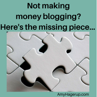 Not making money blogging? Check this out.