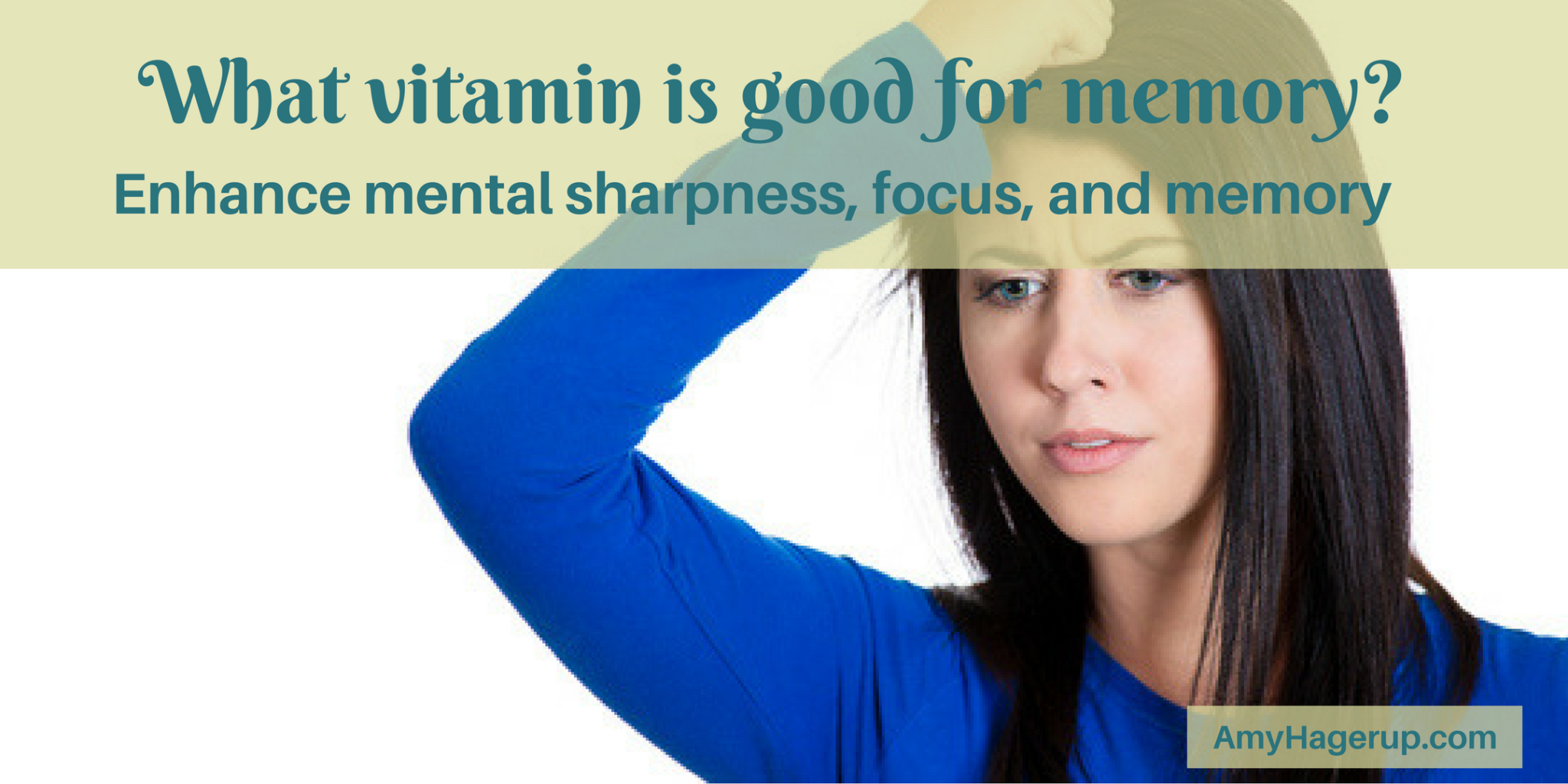 Check out to see which vitamin is good for memory.