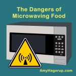 Microwaving food has dangers