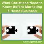 What you should know before marketing a home business