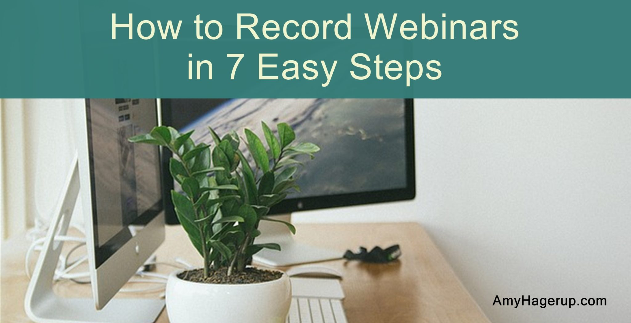 How to record webinars in 7 easy steps so you can make them evergreen.