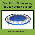 rebounding for lymph system