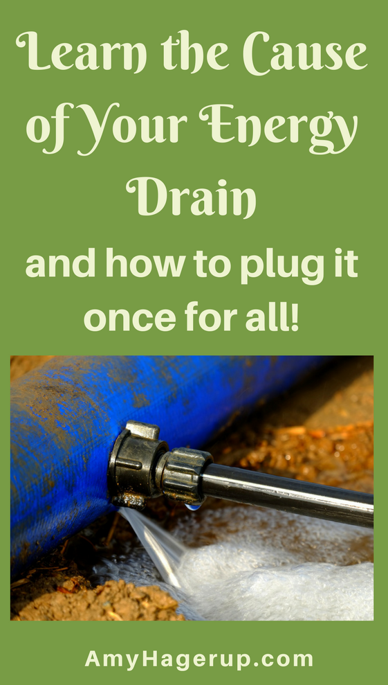 Learn the cause of your energy drain and how to plug it once and for all.