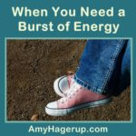 Need a burst of energy?