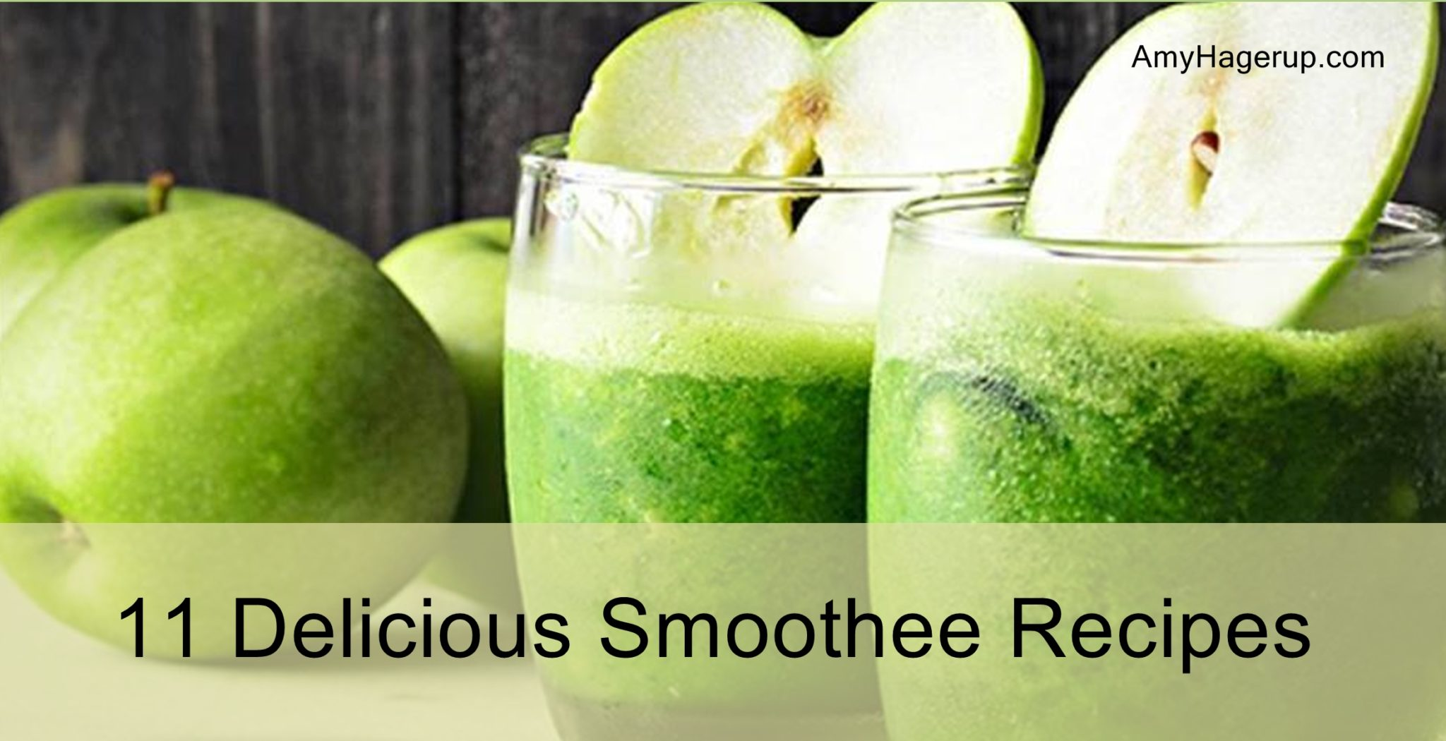Check out these yummy 11 smoothee recipes
