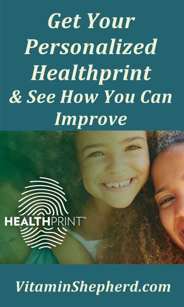 Take your personal healthprint to determine where you are in your health right now.