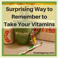 Learn this way to remember to take your vitamins.