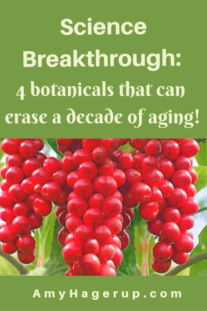 Check out how to erase a decade of aging with four botanicals.