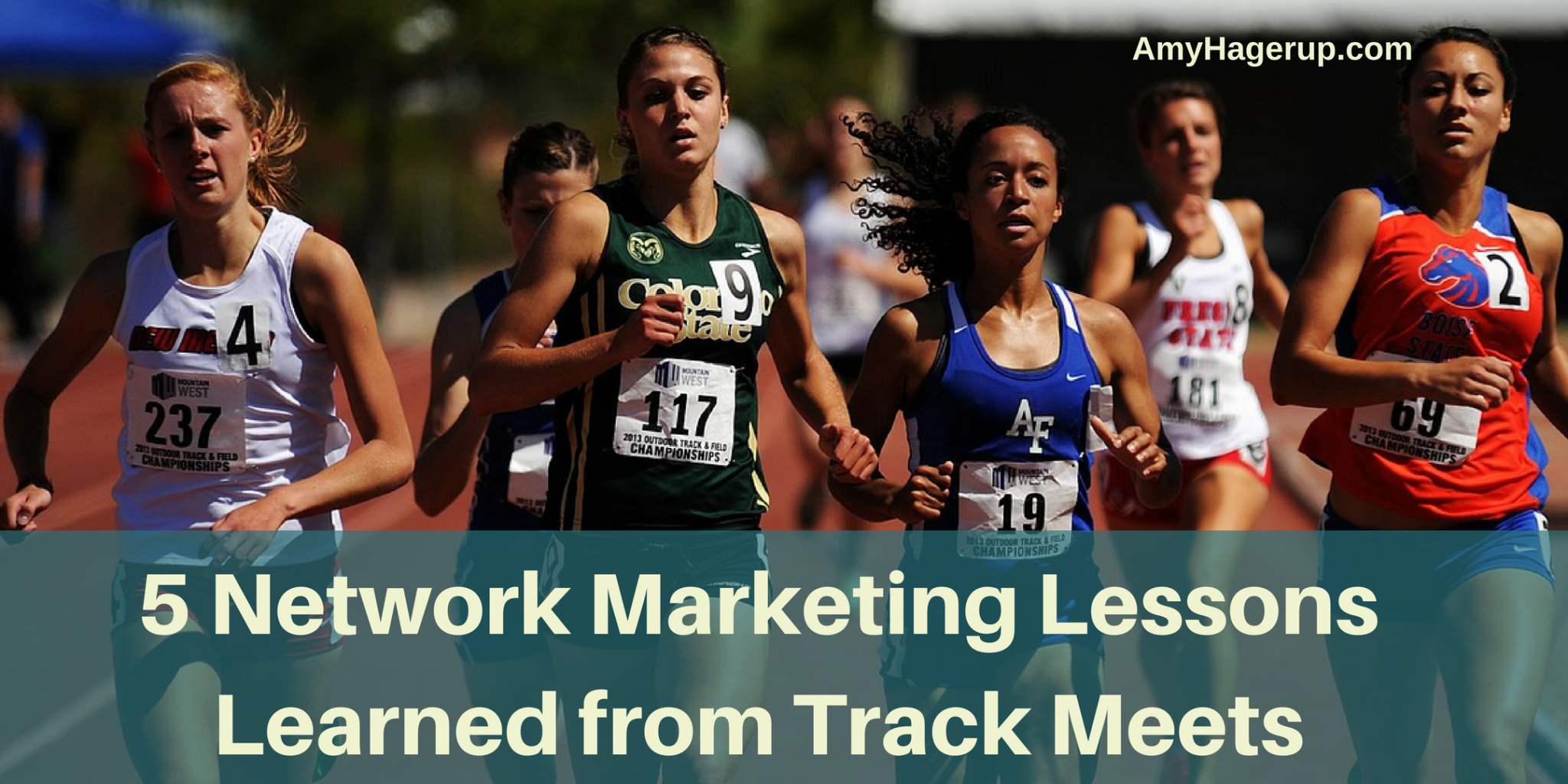 Check out these 5 network marketing lessons learned from track meets.