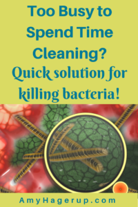 Check out this solution for disinfecting quickly.