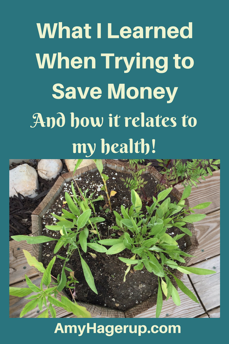 Saving money can end up harming your health!
