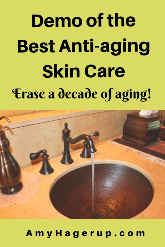 Check out the best anti-aging skin care line.