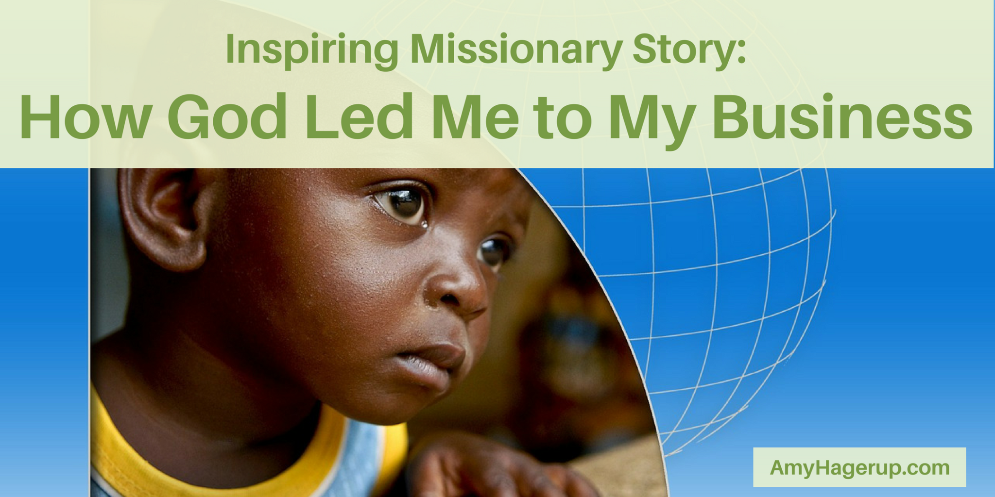 Check out this inspiring missionary story as to how God led me to my health business.