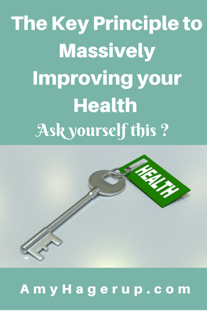 Check out how to massively improve your health with this simple key.