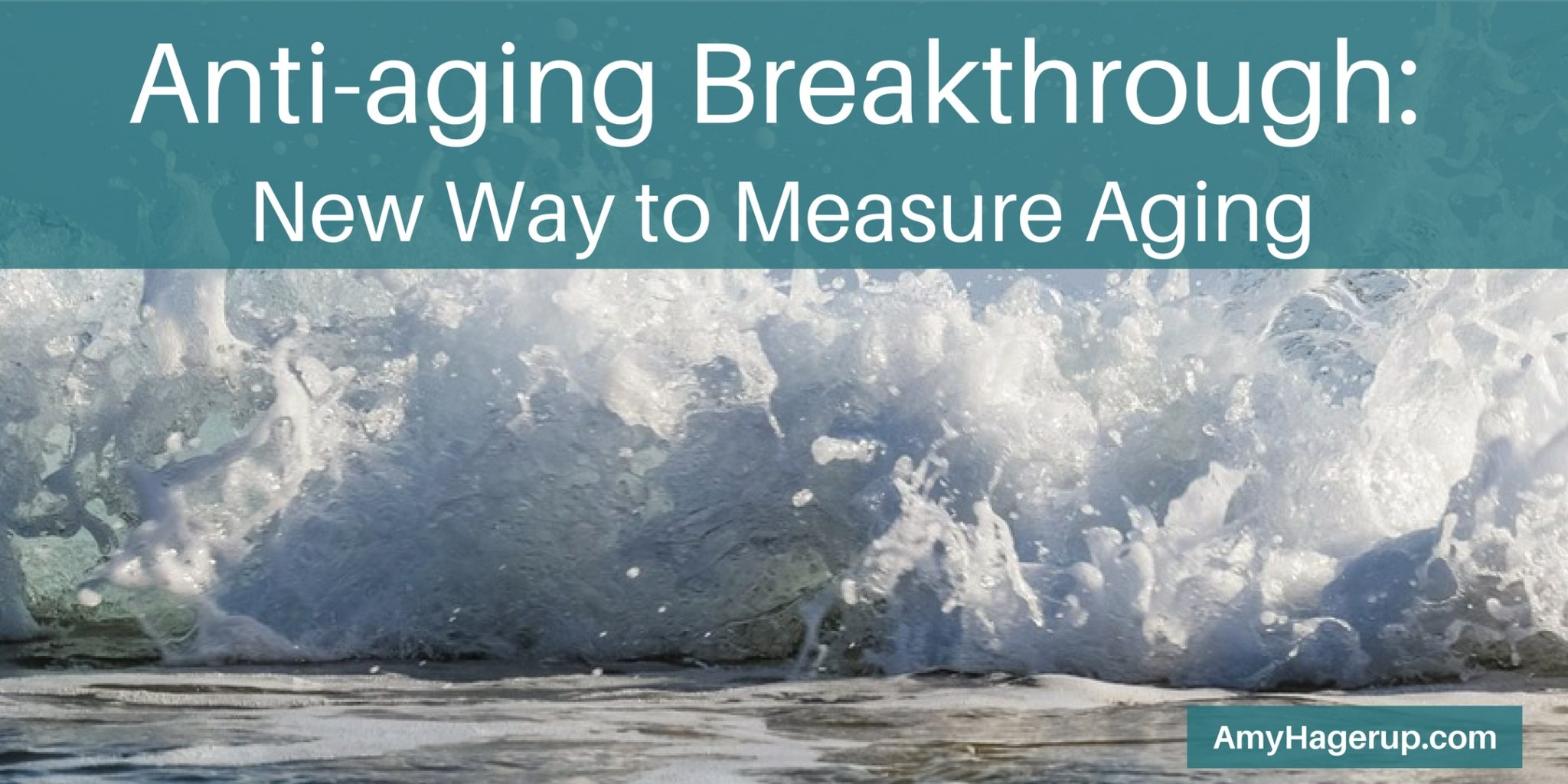 Here is a new way to measure aging. Check it out and begin your anti-aging skin care.