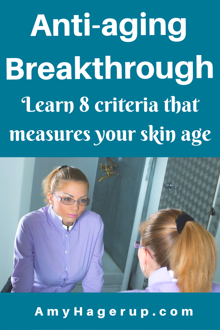 Learn 8 criteria that determine your skin age.