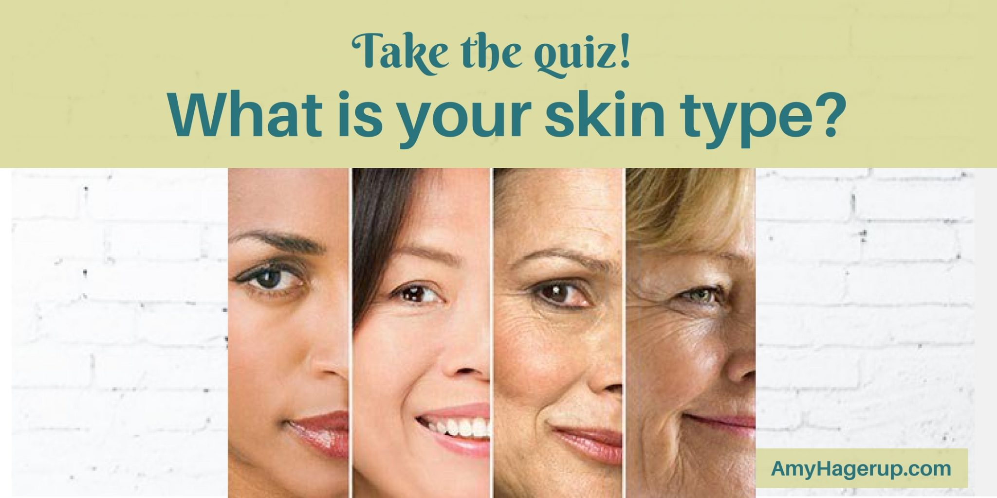 Take the quiz: what is your skin type?