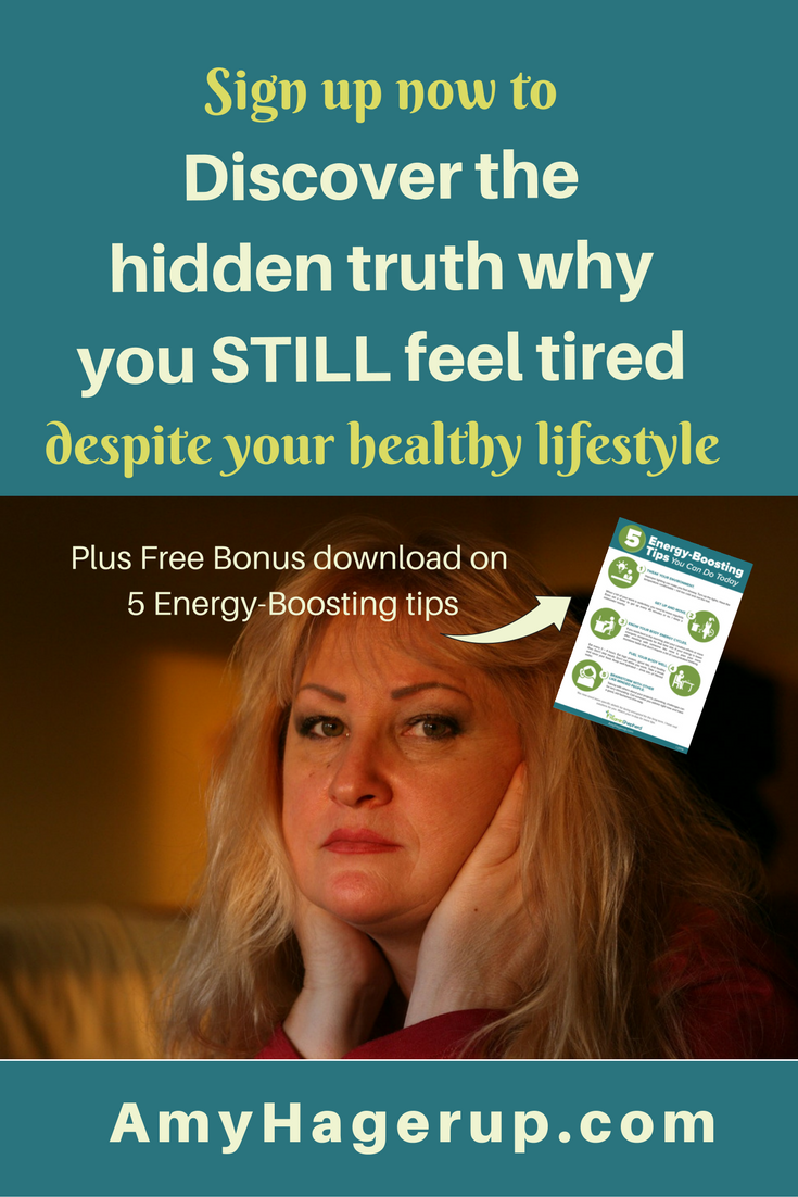 Still feel tired despite your healthy lifestyle? Learn how to get more energy and overcome your tiredness with this health information. Get a free bonus download of 5 energy-boosting tips you can do today when you sign up for the recorded webinar.
