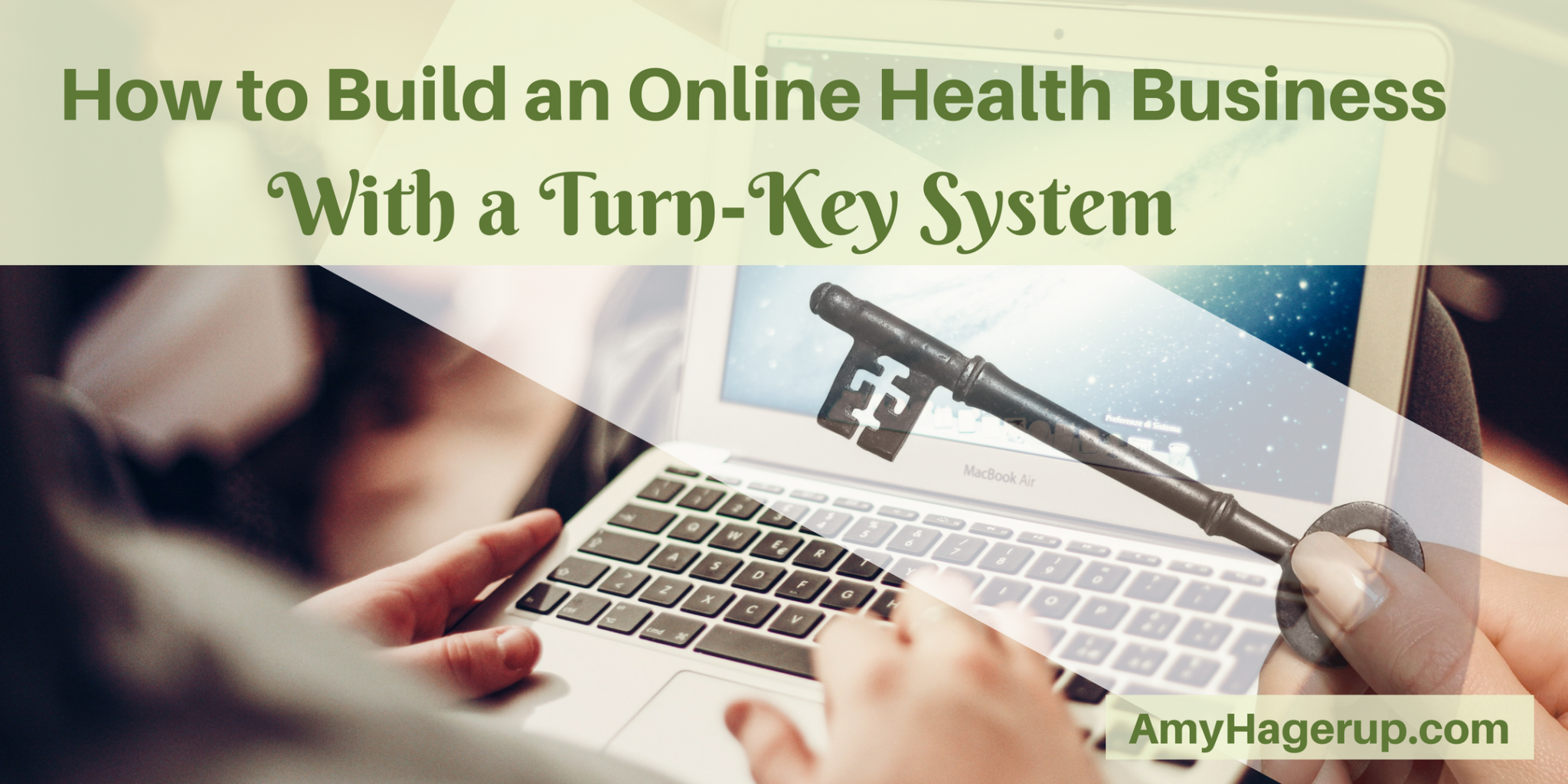 Check out how to build an online health business with a turn-key system
