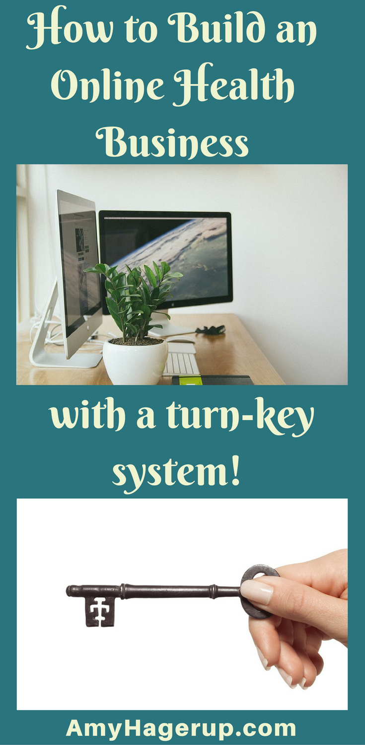 Check out how to build an online health business with a turn-key system.