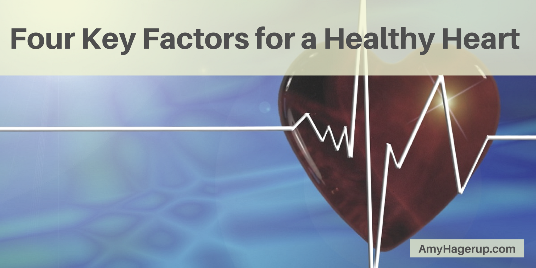 Check out 4 key factors for a healthy heart.