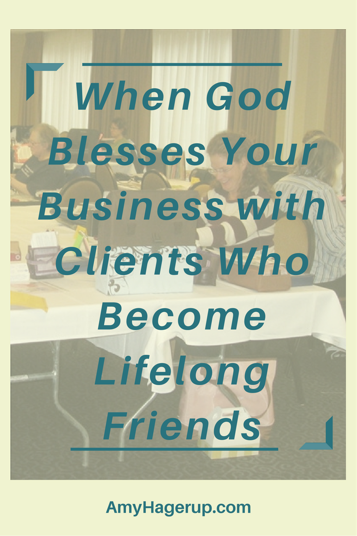 Check out when God blesses your direct sales business with encouraging clients